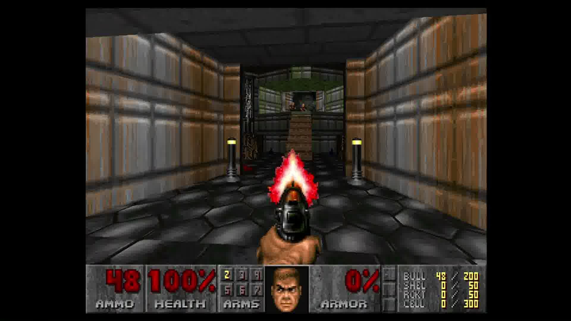 The Ultimate DOOM Xbox 360 Doom at 1920x1080. The mind boggles.