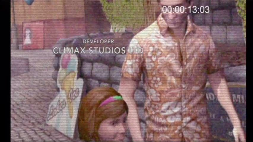 Silent Hill: Shattered Memories Wii Harry and his daughter in happier times