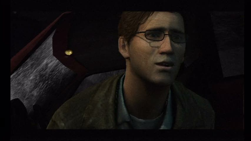 Silent Hill: Shattered Memories Wii Harry Mason, post crash.