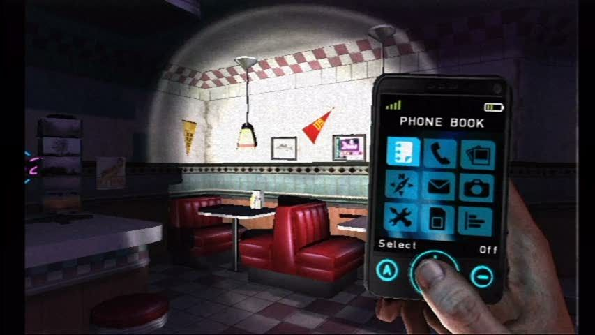 Silent Hill: Shattered Memories Wii Your phone becomes an invaluable tool on your adventure