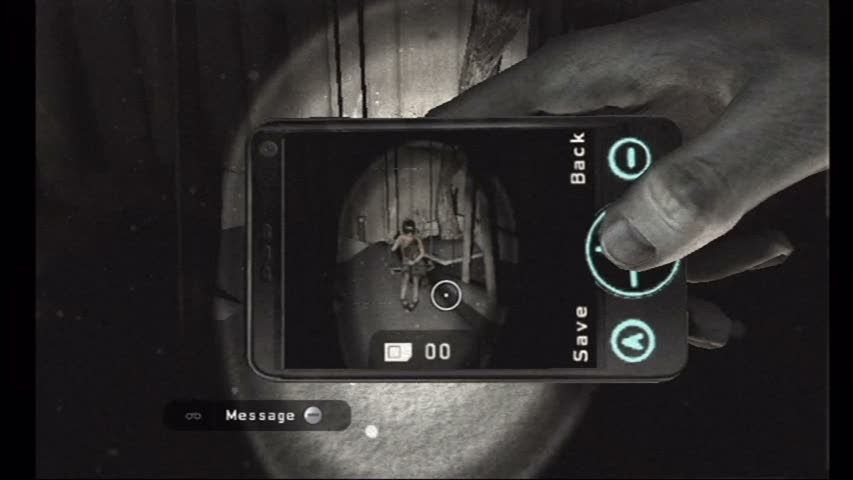 "Silent Hill: Shattered Memories Wii A ghost is revealed, <moby game=""fatal frame"">Fatal Frame</moby>-style"