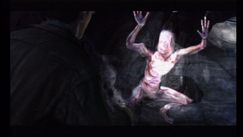 Silent Hill: Shattered Memories Wii The monsters come out. Can't fight them. Have to run.