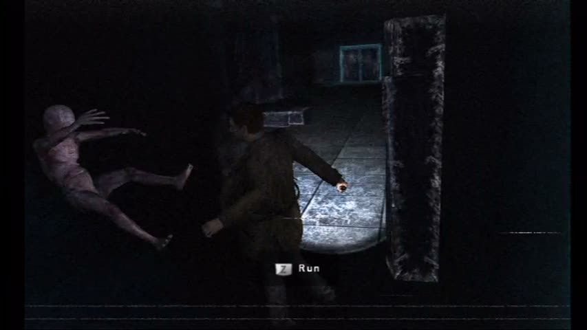 Silent Hill: Shattered Memories Wii Monsters latch on and must be thrown off with the remote