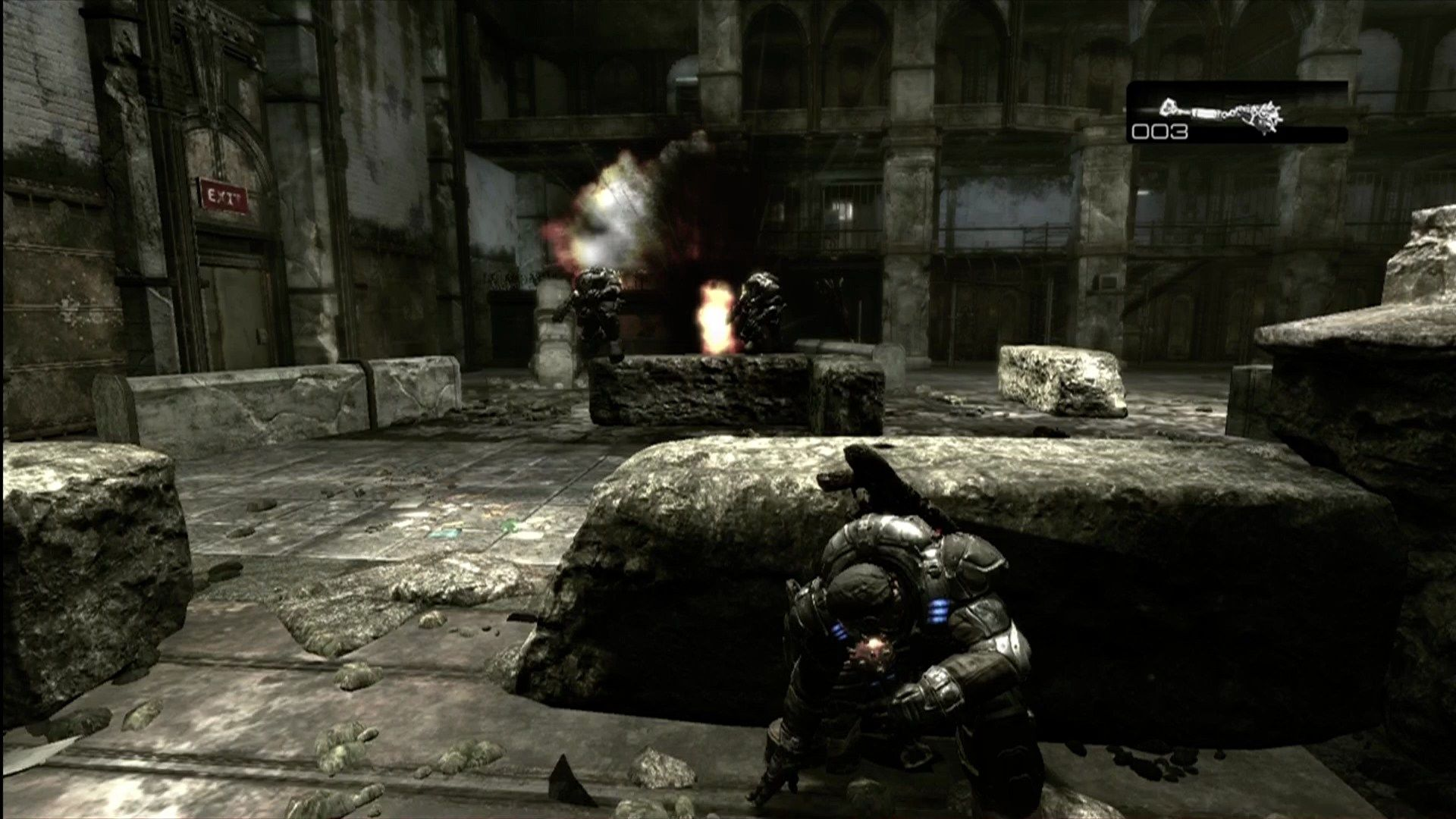 Gears of War Xbox 360 Fun with grenades.