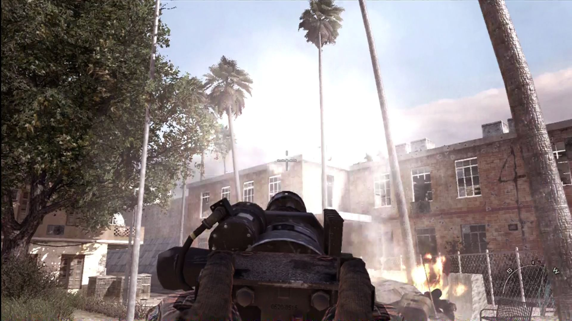 Call of Duty: Modern Warfare 2 Xbox 360 Under fire.