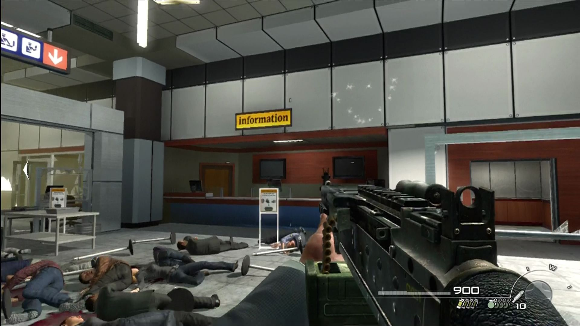 Call of Duty: Modern Warfare 2 Xbox 360 There! Now the scene's a little less controversial.