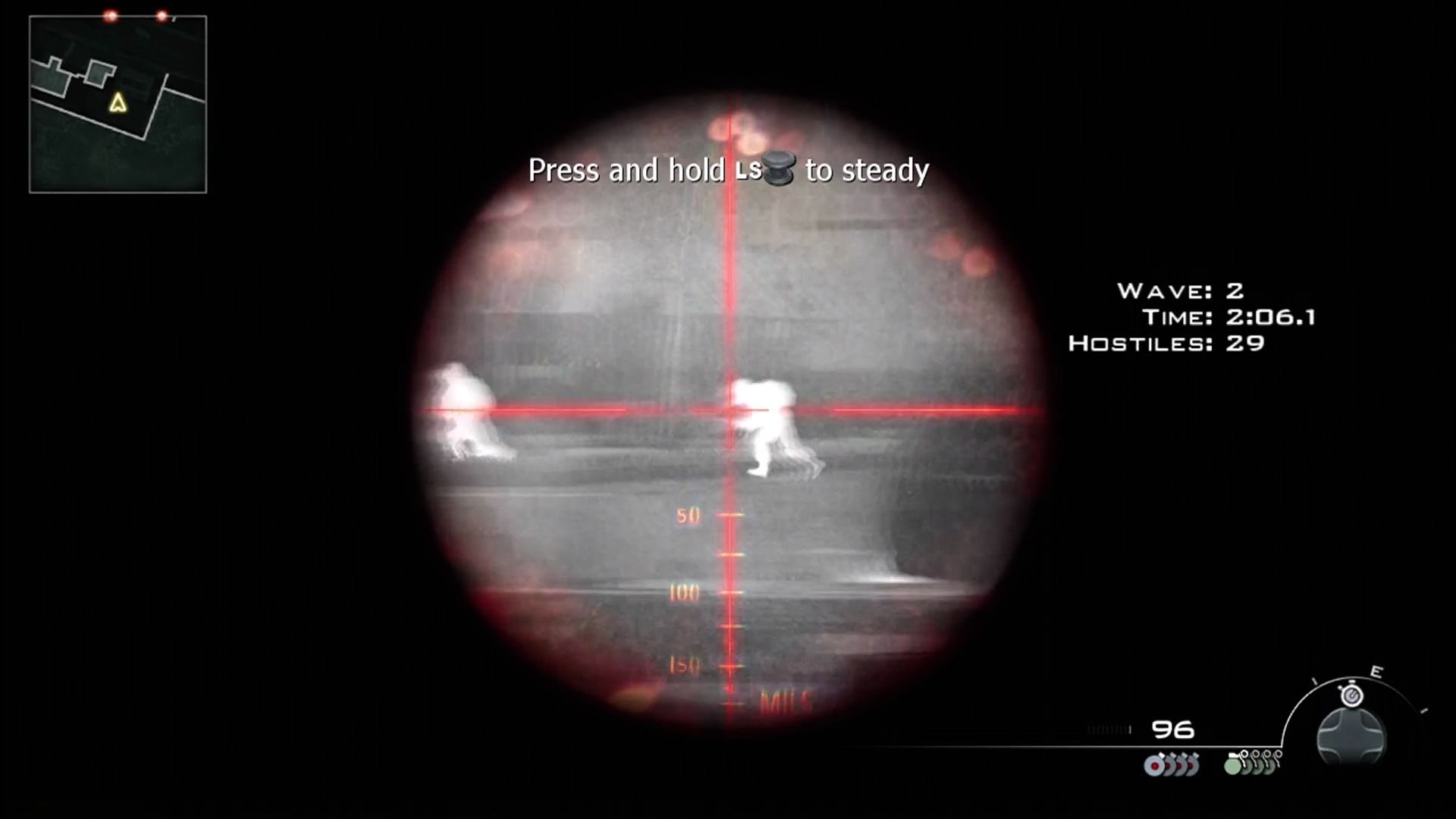 Call of Duty: Modern Warfare 2 Xbox 360 New thermal scopes help you see through smoke.