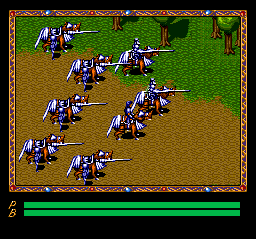 Xak III: The Eternal Recurrence TurboGrafx CD Cool cavalry! :)