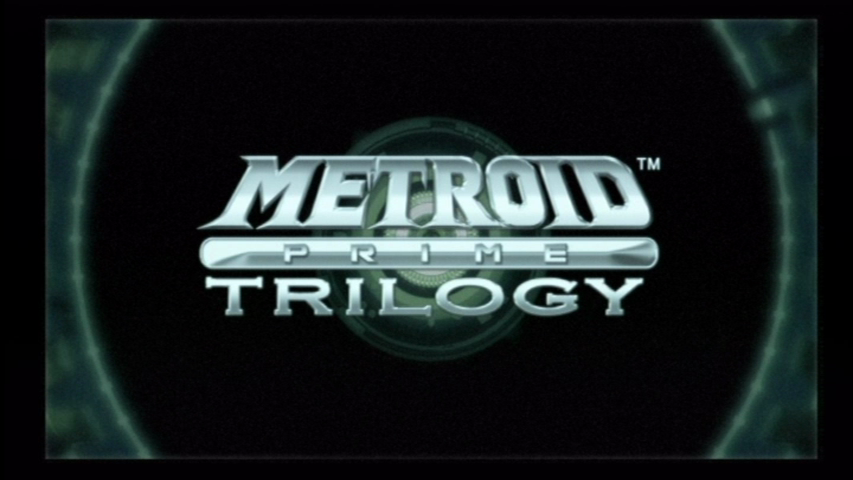 Metroid Prime Trilogy Wii Title screen