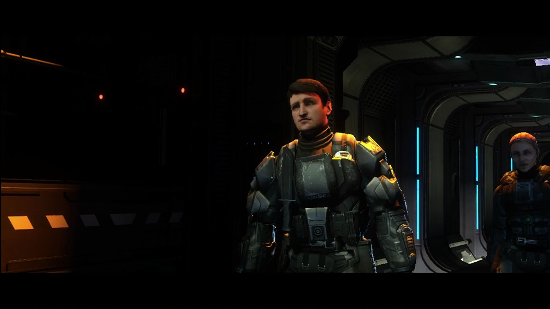 "Halo 3: ODST Xbox 360 <moby developer=""Nathan Fillion"">Nathan Fillion</moby> as... the same character he always plays."