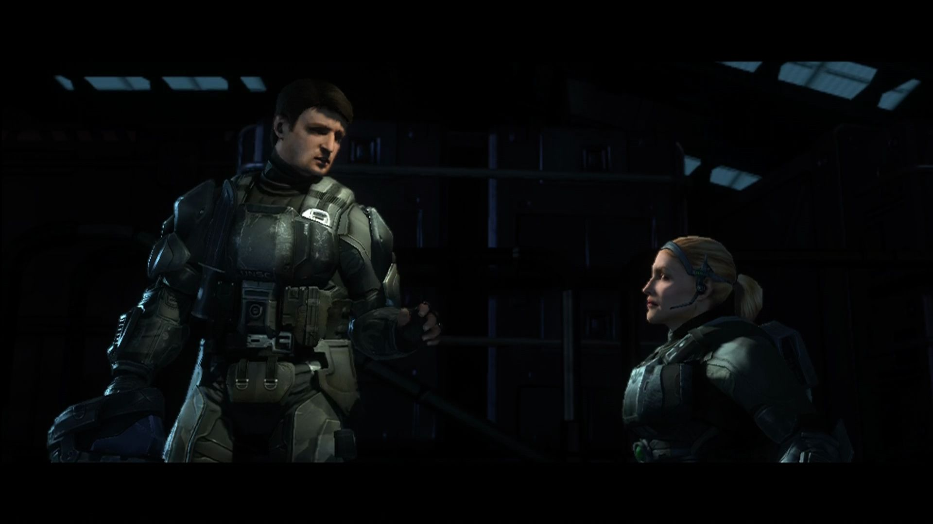 "Halo 3: ODST Xbox 360 <moby developer=""Tricia Helfer"">Tricia Helfer</moby> as the intelligence officer along for the ride."