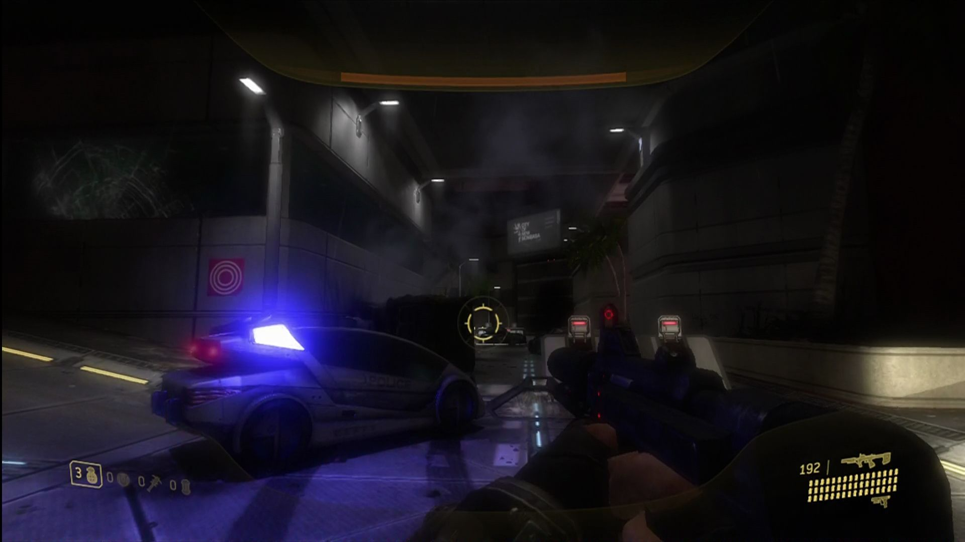 Halo 3: ODST Xbox 360 Off to find the rest of the squad.