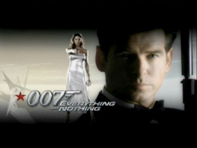 007: Everything or Nothing Xbox Title screen