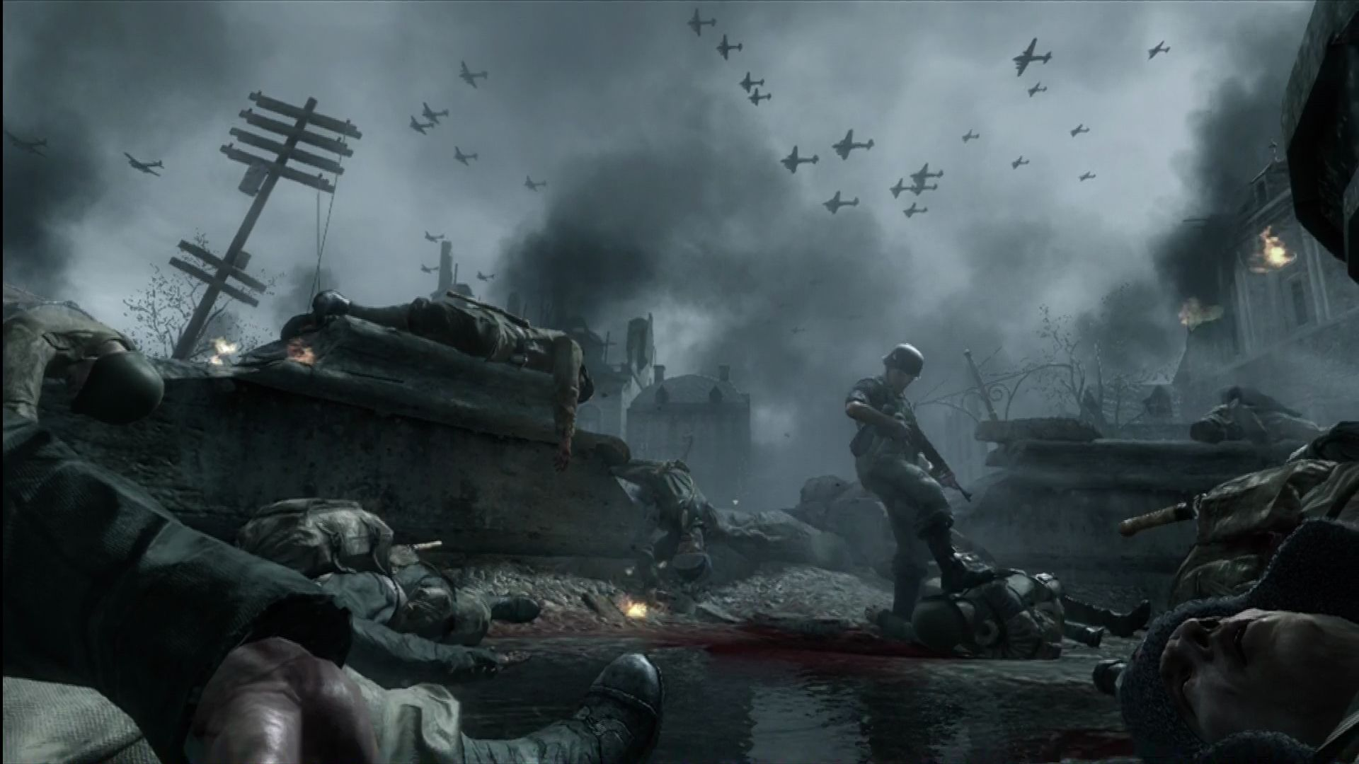 Call of duty world at war screenshots for xbox 360 mobygames a german soldier checks for survivors in stalingrad thecheapjerseys Choice Image