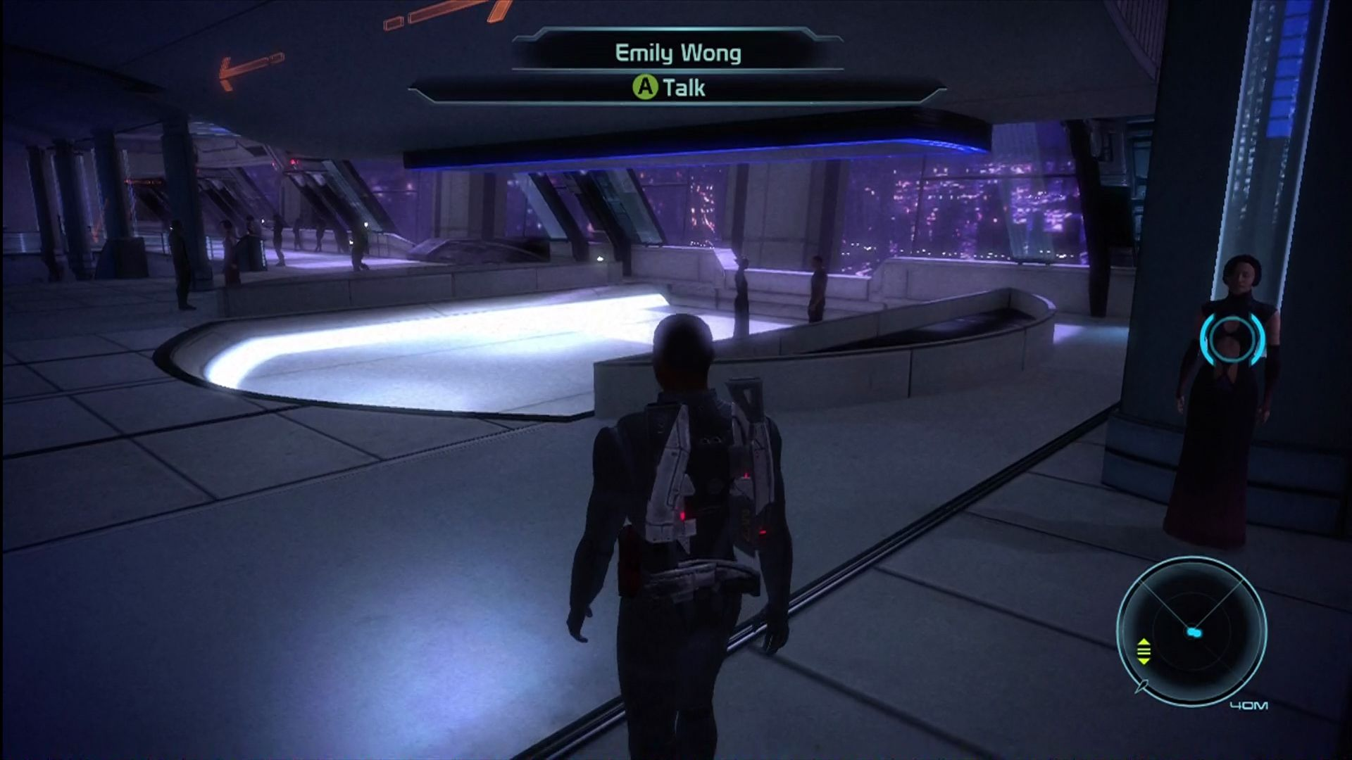 how to get to citadel in mass effect 2