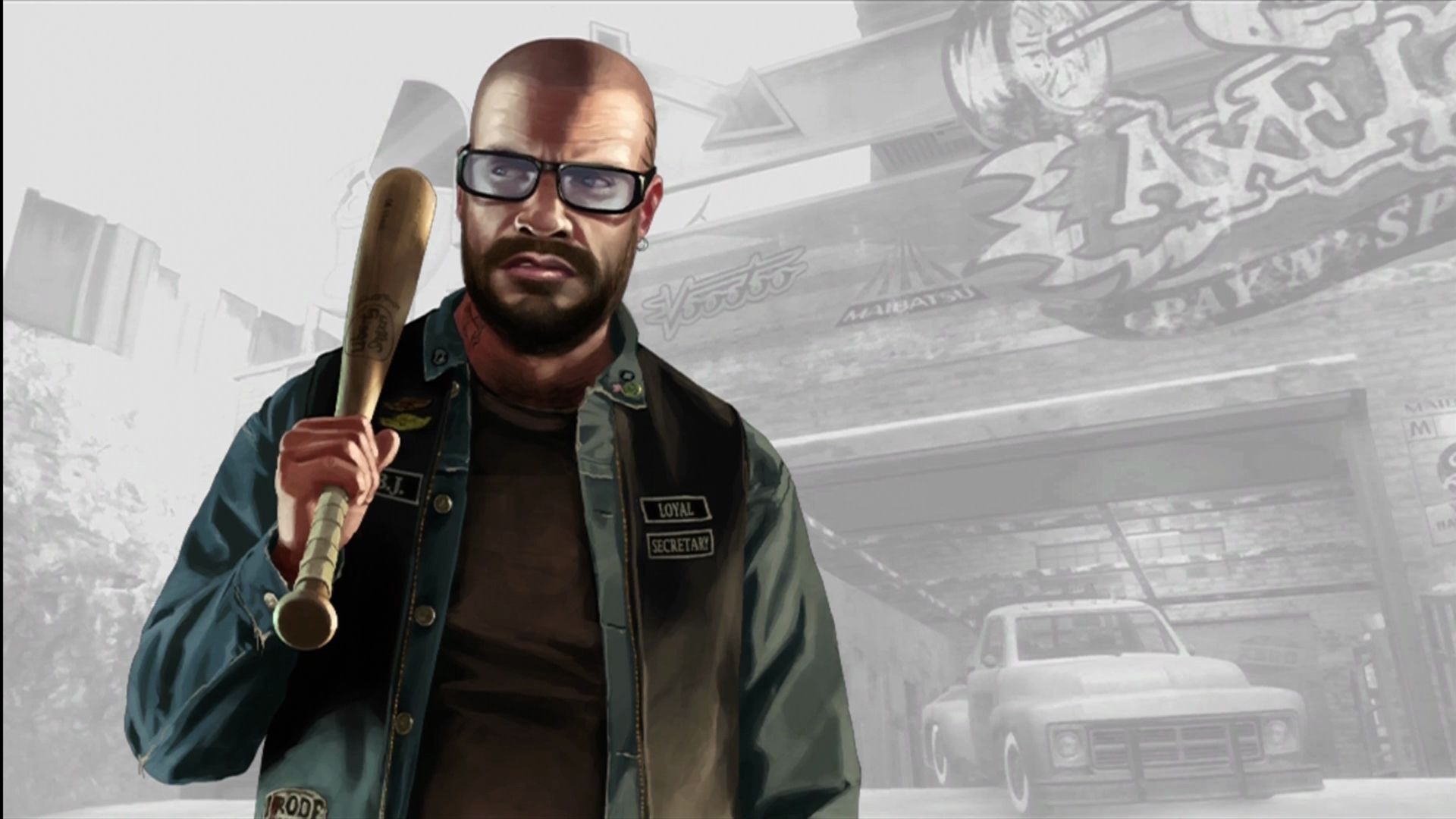 Grand Theft Auto IV: The Lost and Damned Xbox 360 New character portraits for the loading screens