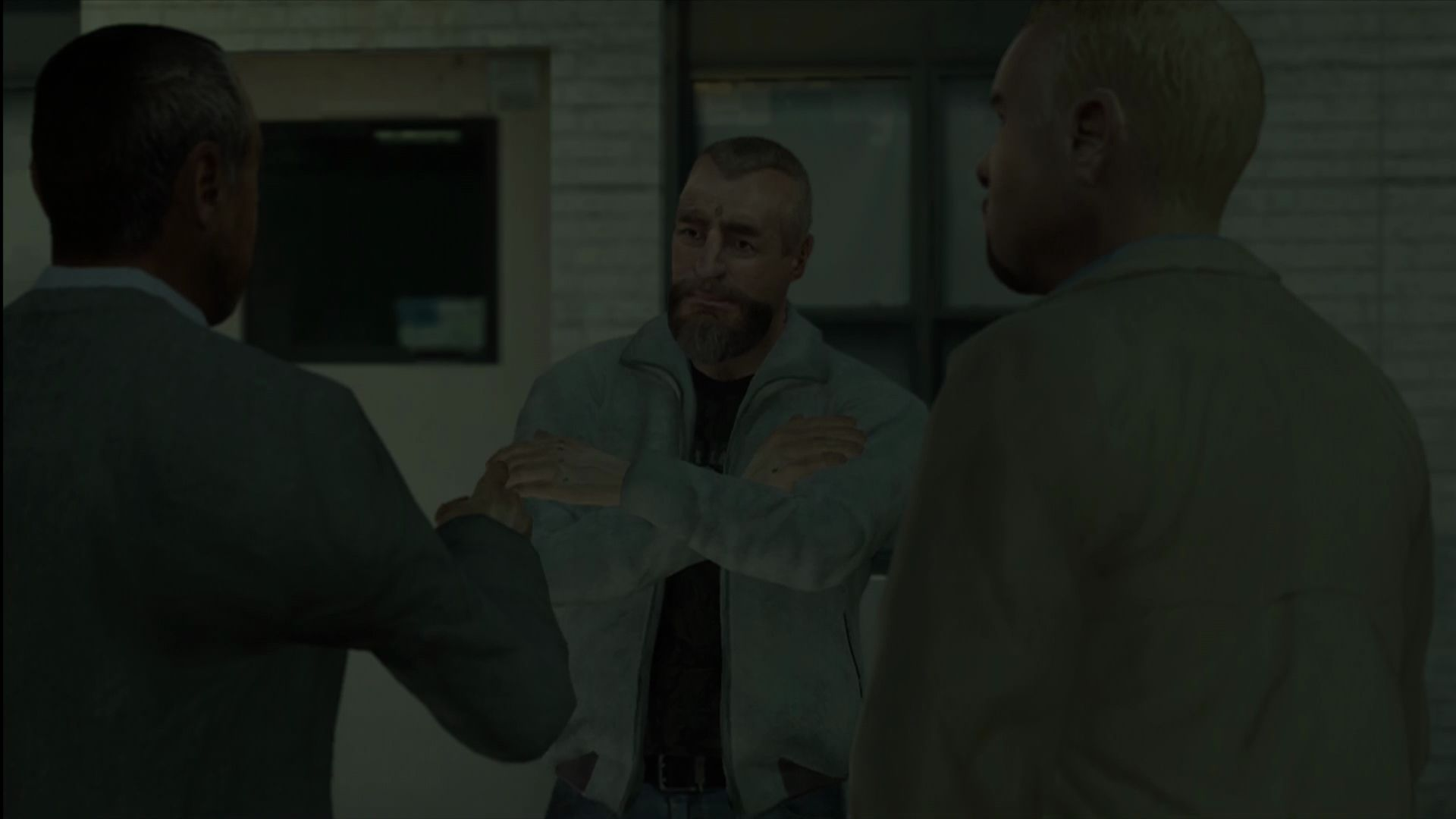 Grand Theft Auto IV: The Lost and Damned Xbox 360 And President Billy Grey, convincing his parole officer that he's now clean and serene.