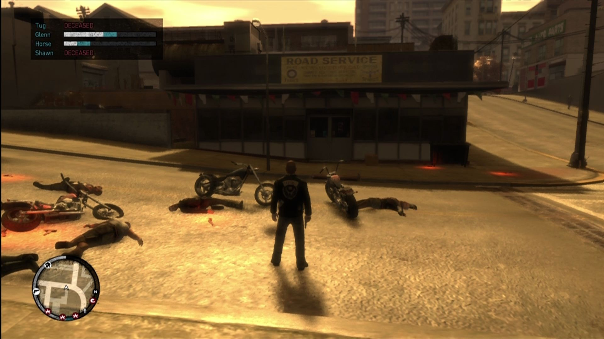 Grand Theft Auto IV: The Lost and Damned Xbox 360 Your crew gains experience, toughness, and weapons as they fight with you.