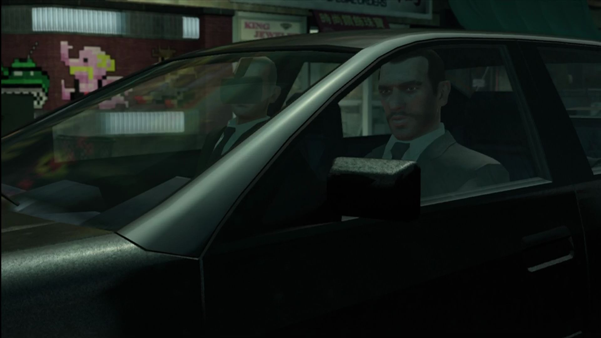 Grand Theft Auto: The Ballad of Gay Tony Xbox 360 Early cameo by Niko Bellic.