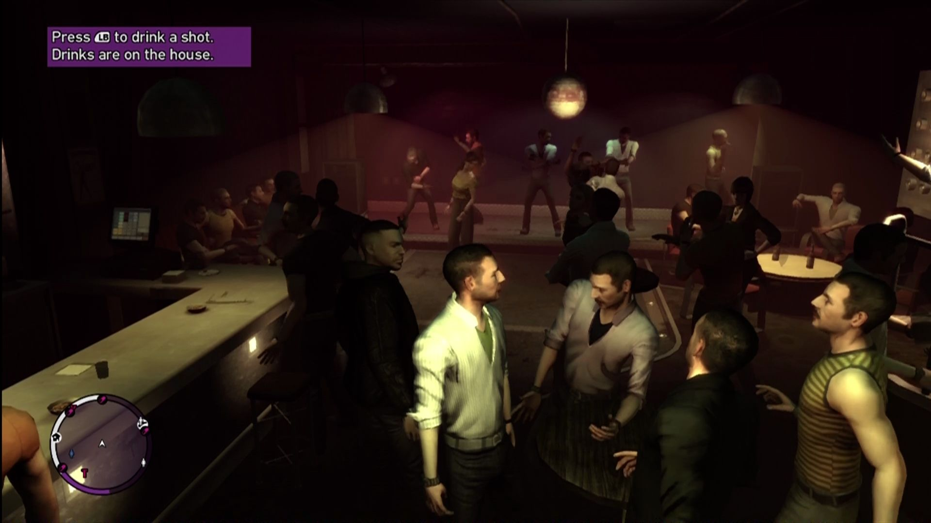 Grand Theft Auto: The Ballad of Gay Tony Xbox 360 Tony's second club, where the men are queens and the drinks are free!