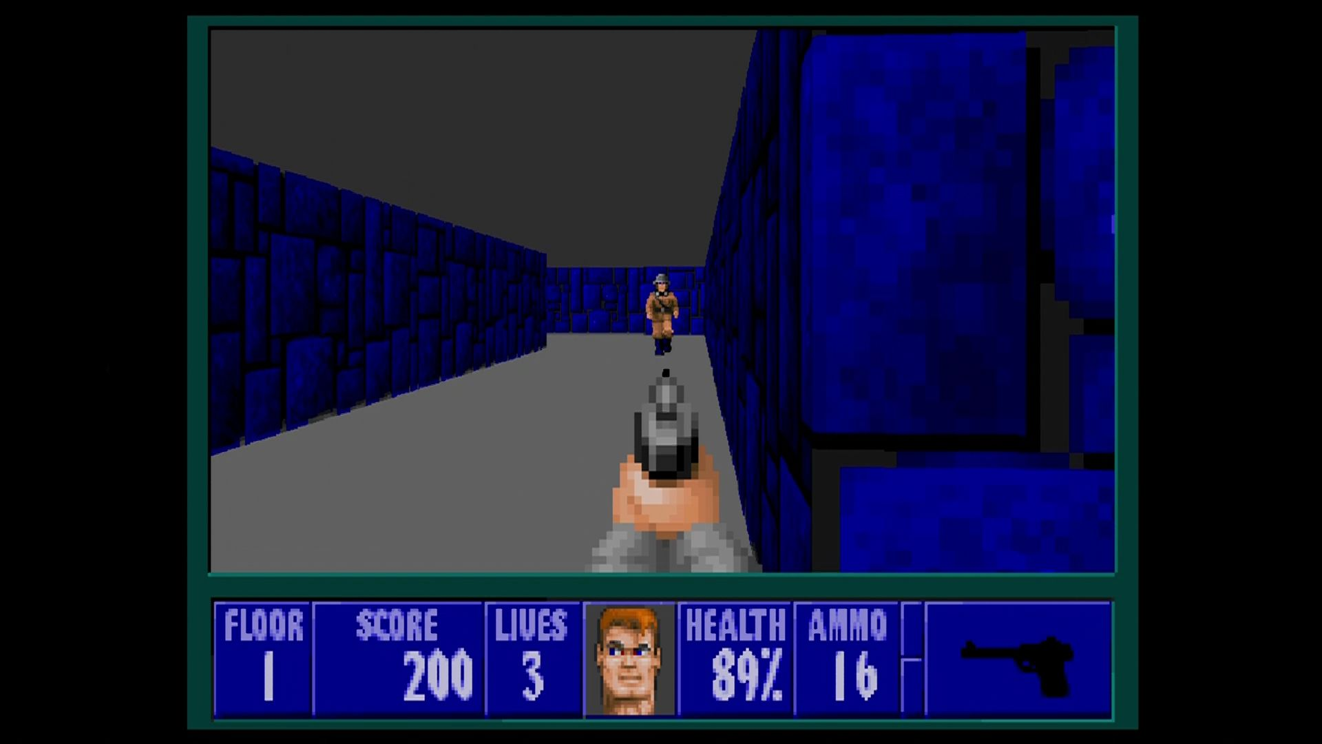 Wolfenstein 3d screenshots for xbox 360 mobygames for Wolfenstein 3d