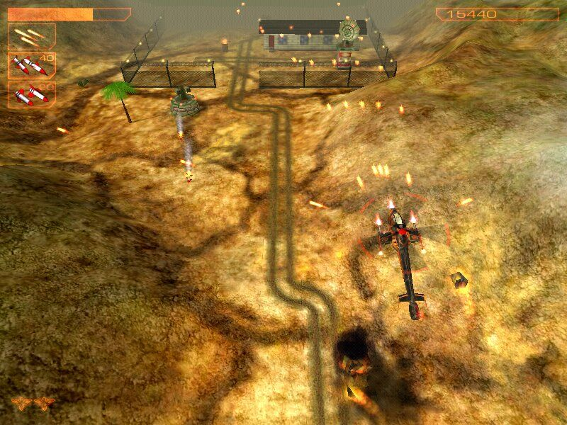 AirStrike 3D: Operation W.A.T. Windows Laser weapon
