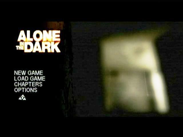 Alone in the Dark Wii Main menu