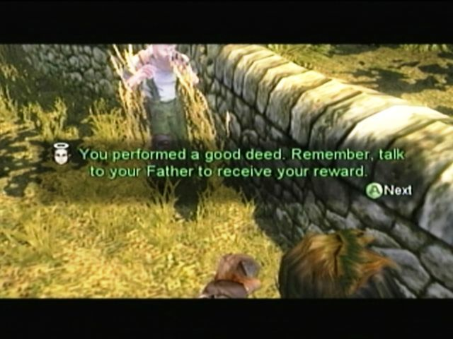 Fable Xbox A good deed