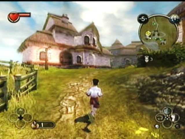 Fable Xbox Running home to see father
