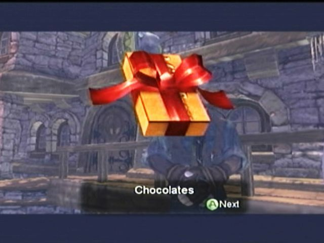 Fable Xbox Buying chocolates