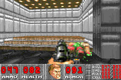 "DOOM Game Boy Advance Like its sister GBA port of <moby game=""doom II"">Doom II</moby>, all blood is now recolored green."