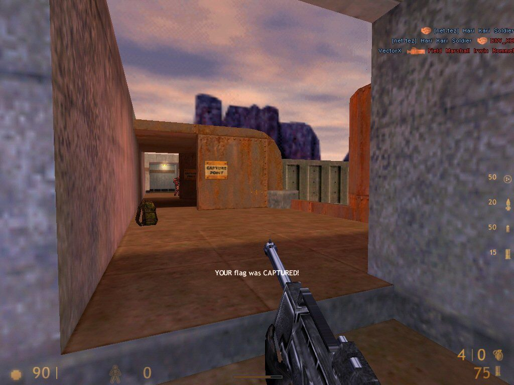 Team Fortress Classic Windows This is a great area for a sniper.