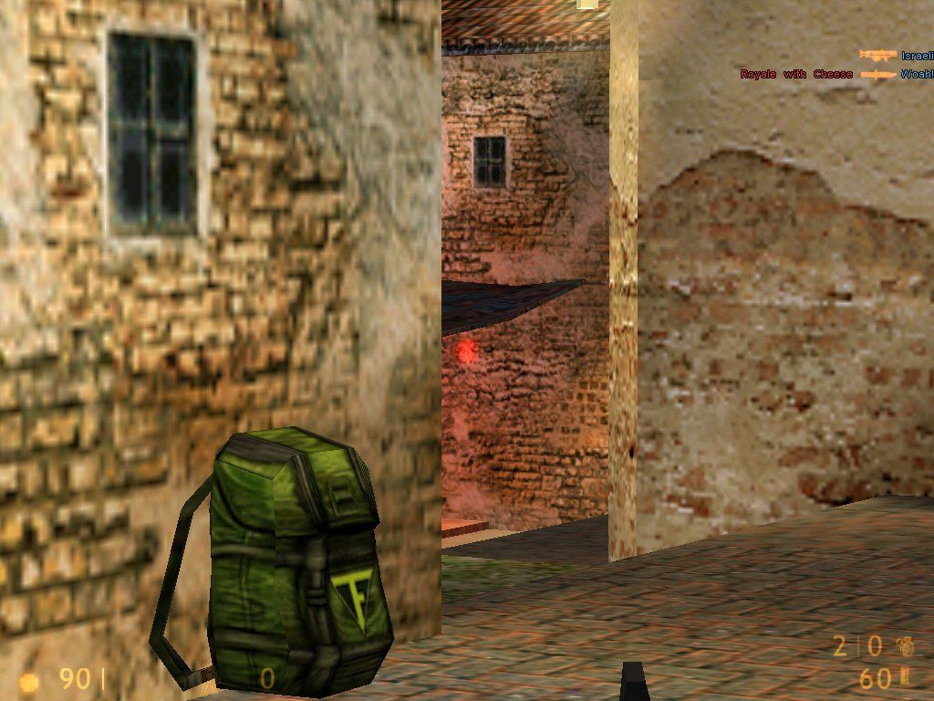 Team Fortress Classic Windows I've got this corner guarded as a sniper.  First guy to show his head loses it.