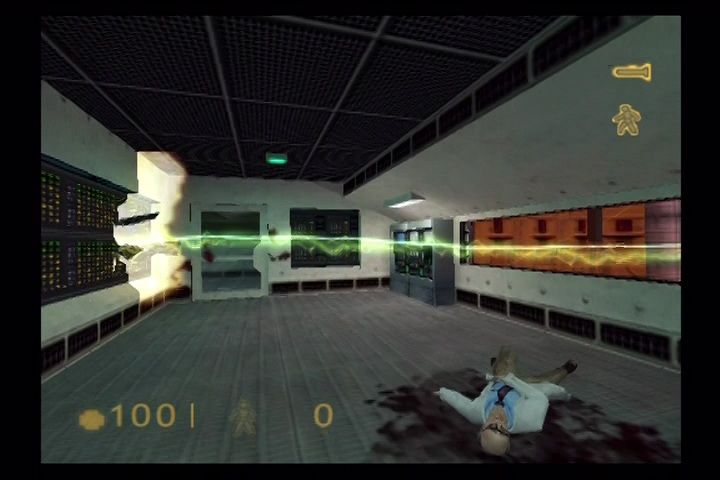 Half-Life PlayStation 2 Still sprite-based explosions and effects.