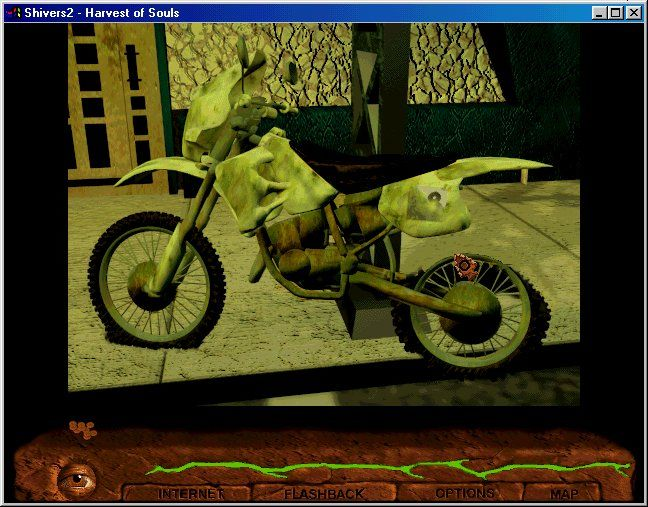 Shivers Two: Harvest of Souls Windows 3.x Look at my tires... I guess I won't be going anywhere