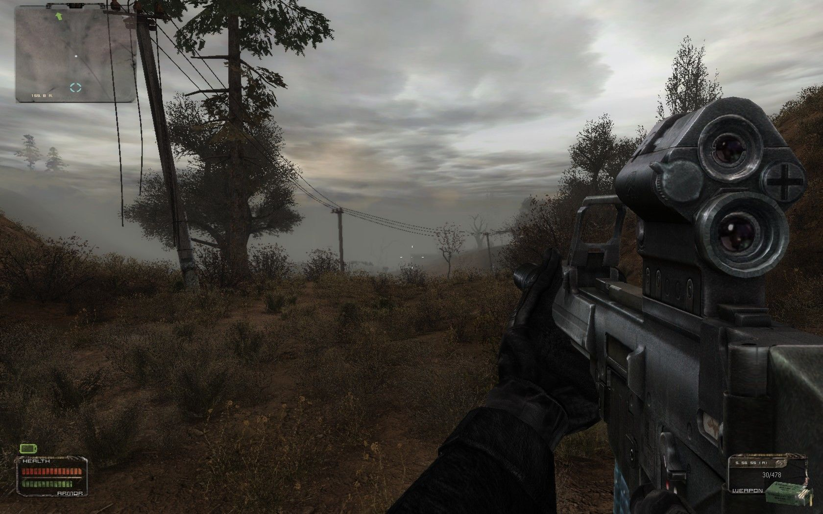 S.T.A.L.K.E.R.: Shadow of Chernobyl Windows Lake Yantar, looking gloomy as ever (Stalker 2009 Complete)