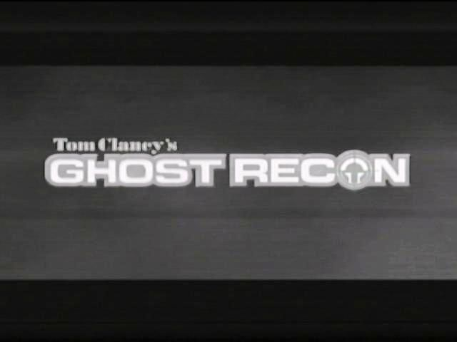 Tom Clancy's Ghost Recon Xbox Title screen