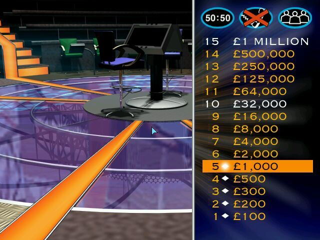 Who Wants To Be A Millionaire Uk Edition Screenshots For
