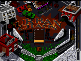 Extreme Pinball PlayStation Urban Chaos bottom