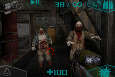 DOOM Resurrection iPhone Zombies everywhere - as we already know.