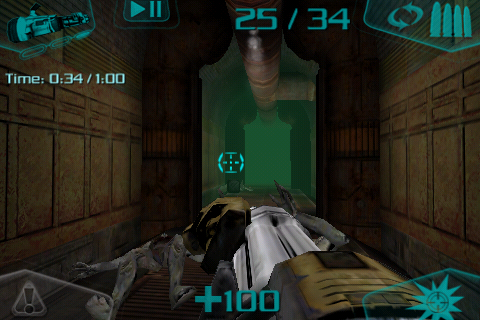 DOOM Resurrection iPhone This room is clear as far as I can tell.