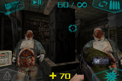 DOOM Resurrection iPhone Me fat and his brother fatter.