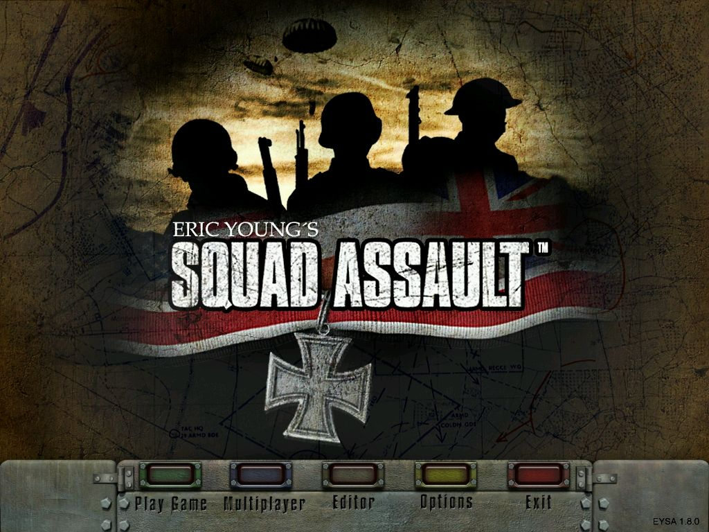 Eric Young's Squad Assault: West Front Windows Main menu
