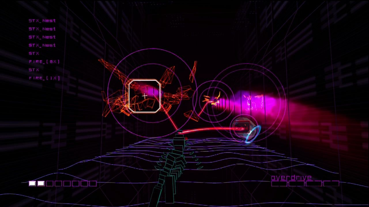 Vector Drawing Lines Xbox One : Rez screenshots for xbox mobygames