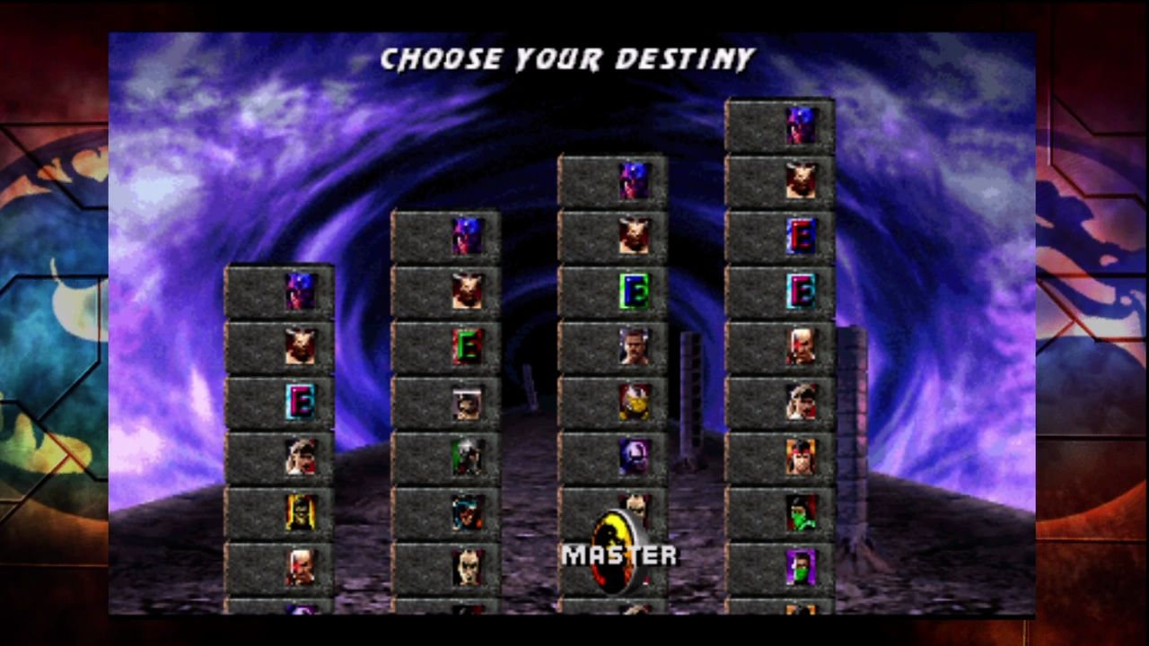 "Ultimate Mortal Kombat 3 Xbox 360 Choose your difficulty... I mean ""destiny."""