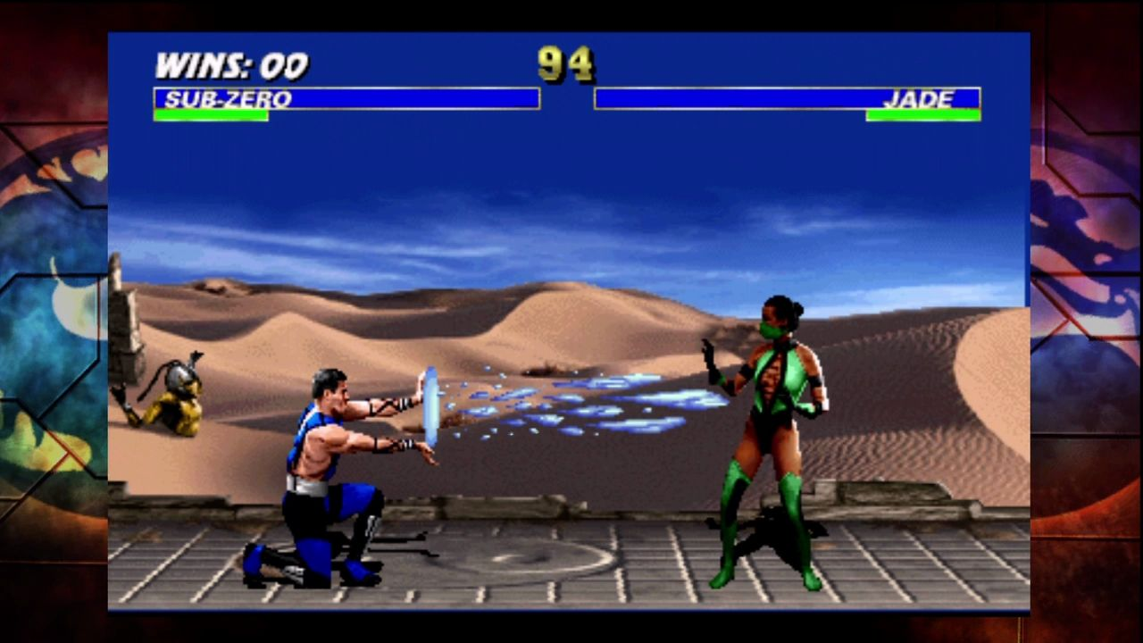 Ultimate Mortal Kombat 3 Xbox 360 Classic moves are still effective.