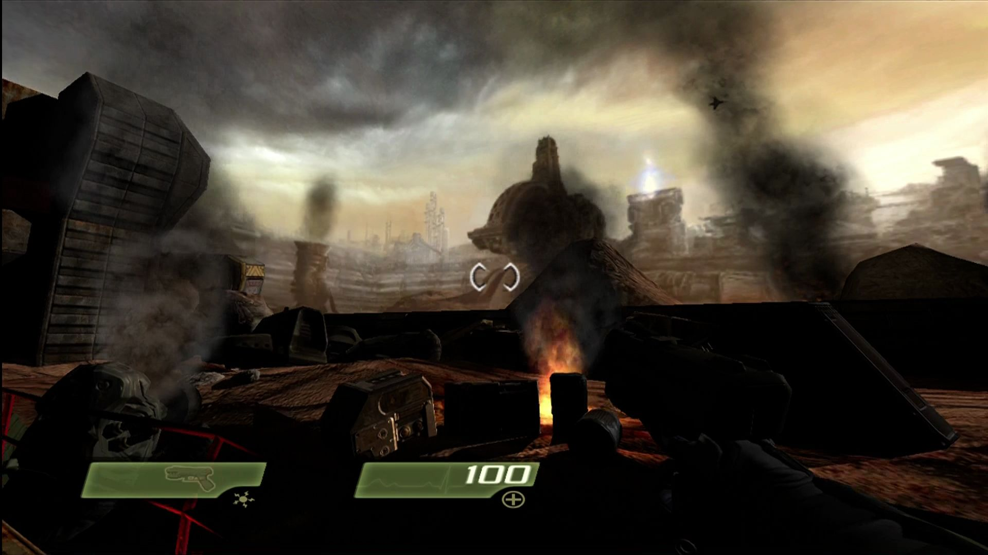 Quake 4 Xbox 360 The Strogg homeworld.