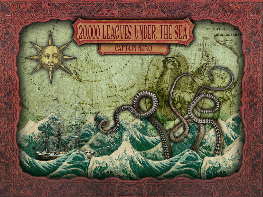 20,000 Leagues Under the Sea: Captain Nemo Windows Title screen