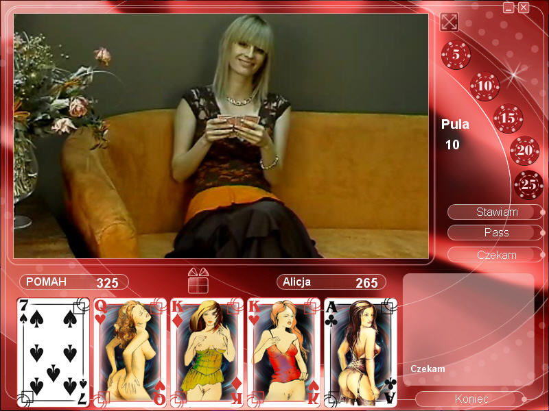 Virtual Strip Poker - Free Online Games