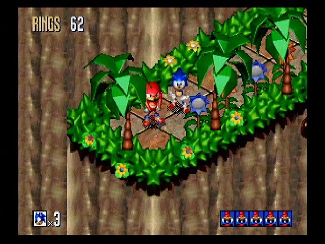 Sonic 3D Blast Screenshots for SEGA Saturn - MobyGames